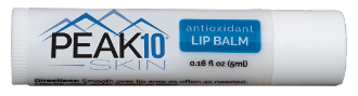 antioxidant LIP BALM STICK w/Vit C 5ml. This lip balm's most powerful active ingredient is Vitamin C, which protects against free radicals, substances that cause damage to our DNA. The only moisture your lips receive is what you provide for them.