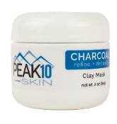 CHARCOAL CLAY MASK refine + detoxify 2oz